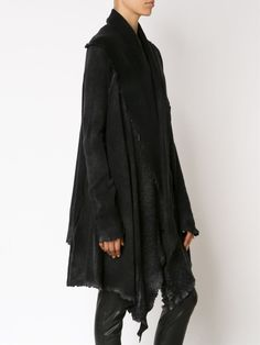 Visions of the Future // missing-light: AVANT TOI - draped distressed long cardigan - New-yesterday