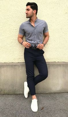 Formal Attire For Men, Semi Formal Outfits, Formal Dresses For Men, Formal Shirts For Men, Formals For Mens, Dress Formal, Fashion Guys, Mens Fashion Suits, Men's Fashion