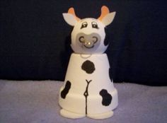 Clay Pot Cow craft
