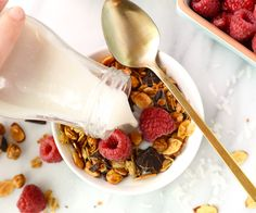 Add a pulse protein boost to your homemade granola and add roasted chickpeas. You will love the crunch they give to this Chocolate Coconut Chickpea Granola.