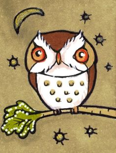 'Little Owl' by Anita Inverarity