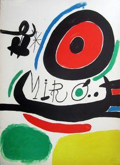 """Joan Miró: """"Exposición Tres Libros, Osaka (1970)"""" H.C. - Subasta Real"""