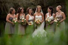 Bridesmaids - same theme