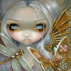 Faces of Faery #208 by Jasmine Becket-Griffith