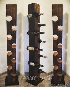 teraz v ZĽAVE ‼️  Pochváľte sa zbierkou svojich vín v originálnom stojane!☺️   http://reborn-w.sk/ostatne/34-stojan-na-vino-pier.html  #wood #winerack #handmade #home #interior #design #style #makeyourhomenatural #beoriginal