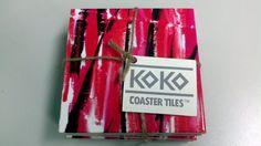 Koko Coaster Tile No. 36 Four Matching Tiles