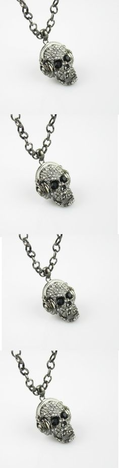 Punk Skull Hip Hop Long Necklace! Click The Image To Buy It Now or Tag Someone You Want To Buy This For. #PunkStyle