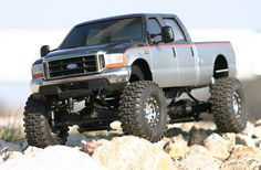 F350 Crew Cab - I wonder how many times this has been pinned not knowing it was a scale RC model