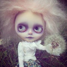 (Lia Lune) Tags: blythe adg circus ghost lapoupéeexotiquecustom