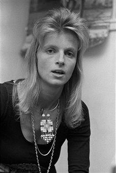 Linda McCartney (1941 - 1998), of pop group Wings, 23rd November 1973.