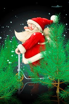 Christmas Tree Gif, Xmas Gif, Christmas Scenery, Merry Christmas Wishes, Christmas Feeling, Christmas Quotes, Christmas Pictures, Christmas Time, Bisous Gif