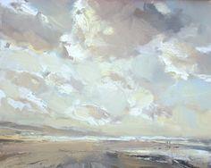 Seascape autumn #20, 24x30 cm, Roos Schuring, 2011 Zeegezicht http://roosschuring.blogspot.com/