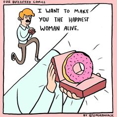 I would say yes but I don't know about you. PIN IF YOU WOULD MARRY A GUY WHO GAVE U A DONUT FOR A RING!
