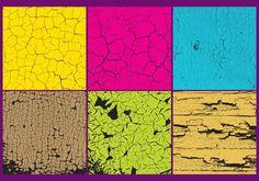 Cracked Paint Texture Vectors