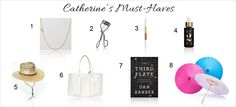 Catherine's (from Weelicious) Must Haves For Summer
