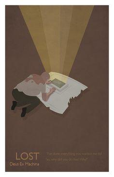 Season 1 - Deus Ex Machina - LOST Minimalista #caconacuca