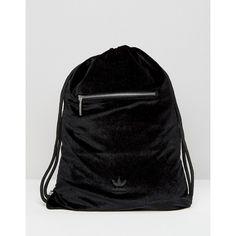 53d6f240271 adidas Originals Velvet Drawstring Bag ( 46) ❤ liked on Polyvore featuring  bags, handbags