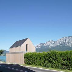 Badehaus Fam. S.   Unterach, Austria   Architekten Luger & Maul