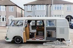 Our wedding camper van snapped by the amazing Danielle Smith. Wedding Car Hire, Three Rivers, Country Club Wedding, Vw Camper, Surrey, Danielle Smith, Retro, Fun, London