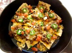 TSR Version Of Chi-Chis Beef Nachos Grande By Todd Wilbur Recipe - Genius Kitchensparklesparkle Mexican Dishes, Mexican Food Recipes, Ethnic Recipes, Nacho Recipes, Mexican Meals, Meat Recipes, Free Recipes, Unique Recipes, Popular Recipes