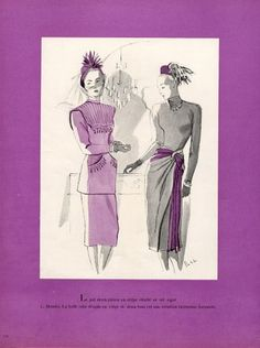 Delfau 1946 Mendel & Germaine Lecomte