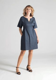 Everyday Chic Dress - Multisize sewing pattern