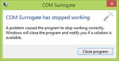 [FIX] COM Surrogate Has Stopped Working In Windows 10 - Kapil Sparks™