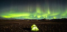 Not your average campsite. See this picture from Iceland in the annual Nat Geo Travel photo contest » Photograph by David Whyte