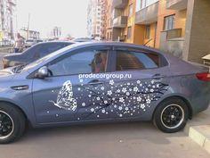 Виниловые наклейки на автомобиль. От макета до монтажа!!! #Виниловые_наклейки #автовинил #винит #тюнинг #автотюнинг
