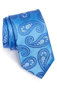 Eton Paisley Silk Tie available at #Nordstrom