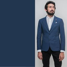 Amazing bue classic jacket for the always elegant man by SELECTED HOMME