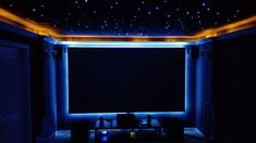 Vernon wanted his home theater to look like a real movie theater. Check out how he achieved that on a modest budget in this installment of CNET's Show Us Yours. Home Theater Decor, At Home Movie Theater, Best Home Theater, Home Theater Speakers, Home Theater Rooms, Home Theater Seating, Home Theater Design, Home Theater Projectors, Real Movies