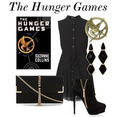 """""""The Hunger Games"""" by fabfandomsfash on Polyvore"""