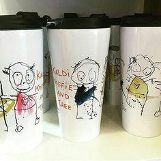 Drink mug for takeaway Pint Glass, Beer, Mugs, Drinks, Tableware, Instagram Posts, Painting, Root Beer, Drinking