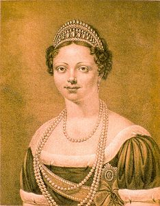 Catherine Pavlovna  del Wuttenberg seconda moglie di Guglielmo I