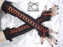 handschoenen zonder vingers, arm warmers 0120