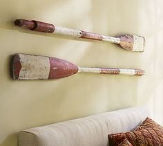 pewter+sage: Oars and Paddles