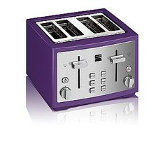 Kenmore- -4 slice toaster, Purple  Sears has a bunch of Purple small appliances...