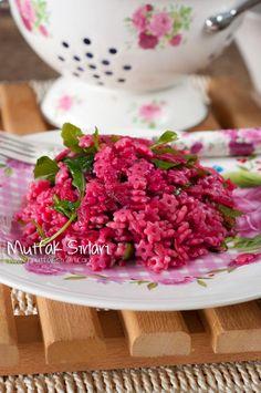 Yıldız Şehriye Salatası (Pancarlı ve Rokalı) – Mutfak Sırları – Pratik Yemek Tarifleri