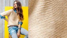 Le pull tube au point mousse : Femme Actuelle Le MAG