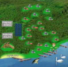 Lipczynek - domki w lesie nad jeziorem, łódka, silnik (noclegi)