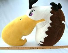 Angry-Birds-MIGHTY-EAGLE-Plush-Stuffed-Animal-HUGE-LIMITED-EDITION-RARE-EUC Angry Birds Mighty Eagle, Pet Toys, Dinosaur Stuffed Animal, Sewing Projects, Plush, Sweet, Party, Crafts, Animals