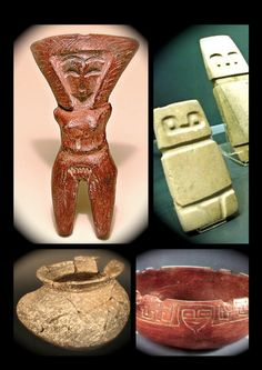 "CULTURA VALDIVIA 4,000 A .C. A 1,500 A.C.   SEÑORA  Y SEÑOR  VALDIVIANOS  CERAMICA DE LA CULTURA: ""OCCIDENTE DE MEXICO"",  NAYARIT      ... Thing 1, Early Middle Ages, Stone Sculpture, Ancient Art, Pottery Art, Archaeology, Ecuador, Sculptures, Objects"