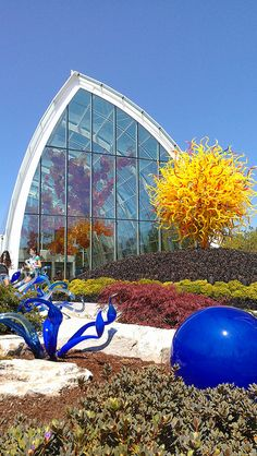 One of the premiere glass artists in the world, Dale Chihuly Garden of Glass, Seattle Center