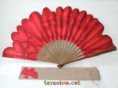Abanico pintado a mano - Hand painted fan | Teresina