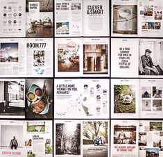 Daniel Paper - Corporate Publishing by moodley brand identity, via Behance