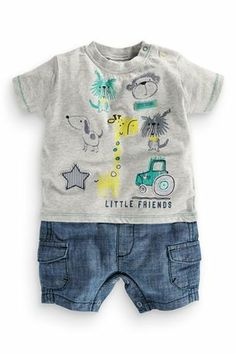 Lovely boys garment shape and graphics