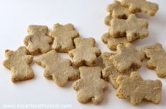 animal crackers from super healthy kids  - nut free, dairy free, gluten free