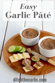 This is an incredibly easy low carb pate recipe to try today. Pin for later and…