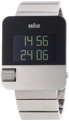 Braun PRESTIGE WATCH BN0106SLBTG – Reloj digital de cuarzo unisex, correa de acero inoxidable color plateado (alarma) | Your #1 Source for W...